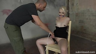 Aroused blonde goes naughty from the word go advanced position domination BDSM