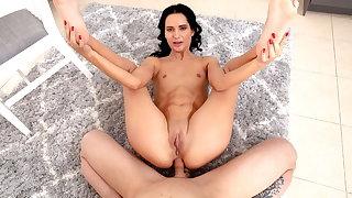 Teens Analyzed - Megan Venturi - Teen brunette first anal se