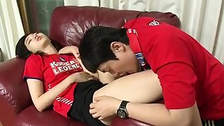 Lay Korean cuple teen fucking in tourist house strengthen 6