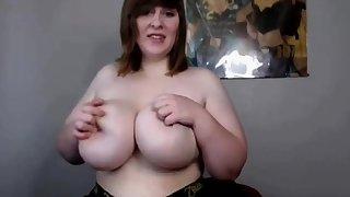 Georgina Lempkin solo BBW with huge bowels