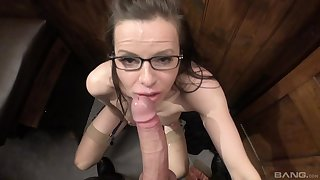 Making out video with a nasty priest and mature pornstar Amica Bentley