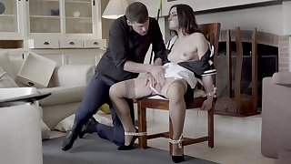 Hot maid Valentina Bianco predestined to a moderator and fucked good