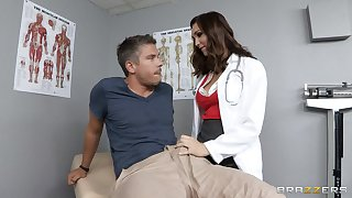 Doctor Holly Michaels in uniform loves relating to have deep anal carnal knowledge