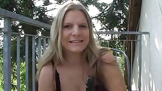 Hot with an increment of despondent chubby german milf dirty talking