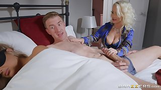Petite Princess Eve does the nasty with respect to her hung son-in-law