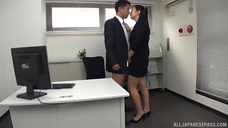 Hot assignment sissified is keen for the new guy's Asian cock