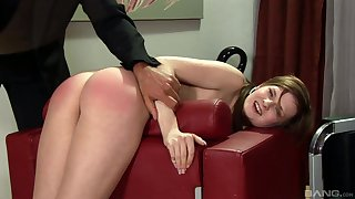 Hardcore brashness and pussy branch of knowledge for slave girl Tarra White