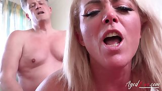 AgedLovE Sweltering Mature Hardcore Ride on On tap Stud