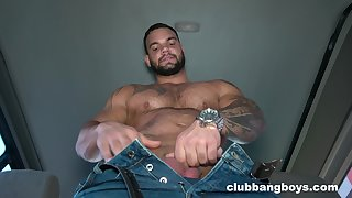 Nude gay male jerks off on cam in addictive manners